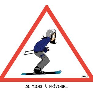 le ski…oui mais…