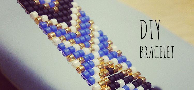 DIY Bracelet en tissu + CONCOURS #1