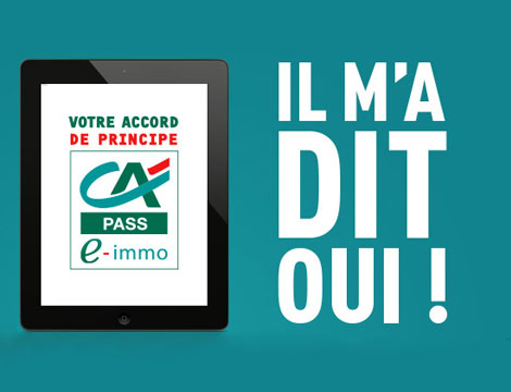 Crédit Agricole – Campagne E-Immo