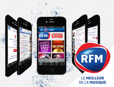 RFM – Application mobile