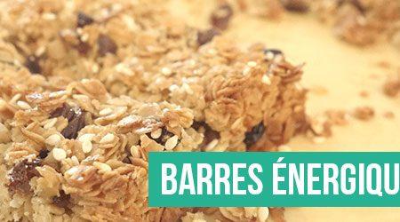 Barres énergétiques Healthy & Homemade