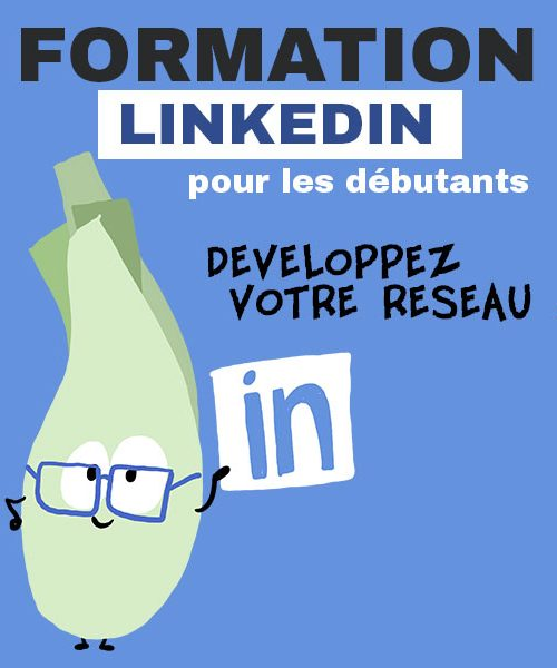 // Formation Linkedin // Mercredi 27 Mars 14h30