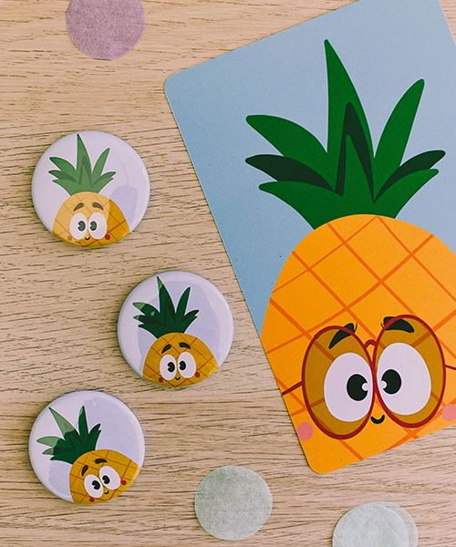 Badge Ananas