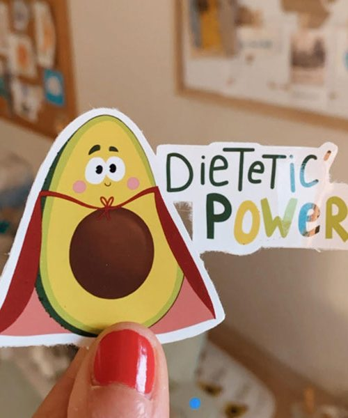 Stickers Dietetic'Power