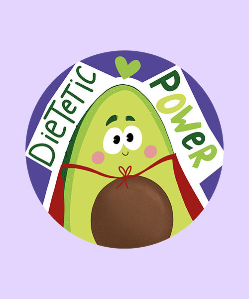 Badge Dietetic Power