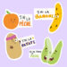 Stickers expressions alimentaires