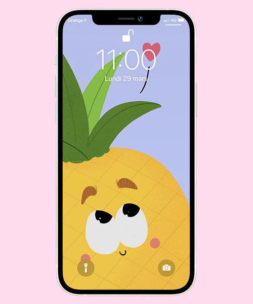 Fond d'écran Ananas