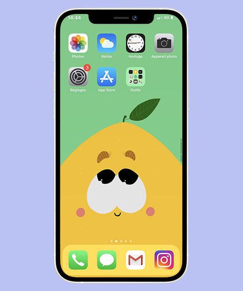 Fond d'écran Citron
