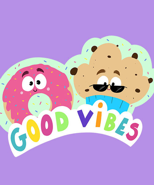 Sticker Good Vibes
