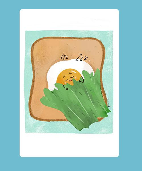 Inktober 15 Toast